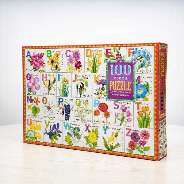 Flower Alphabet Puzzle