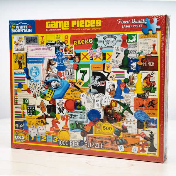 Game Pieces Puzzle