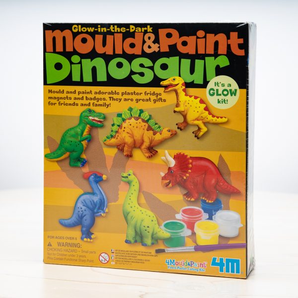 Mould and Paint Dinosaur