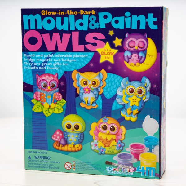 Mould and paint Owls