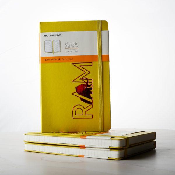 RAM Yellow Notebook 2