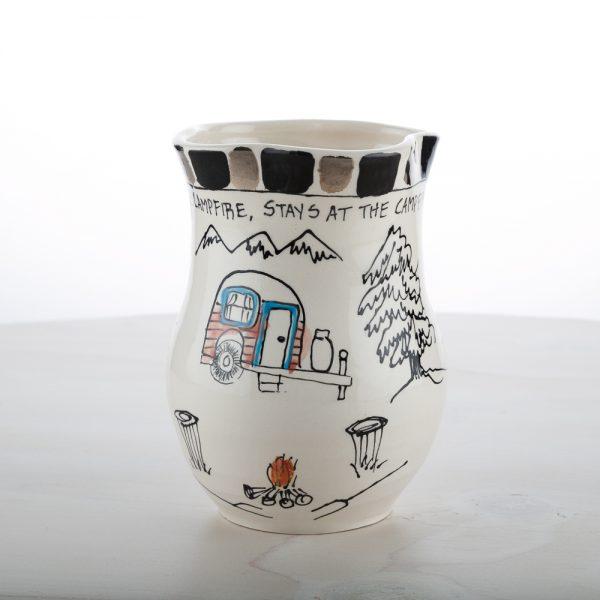 Small Camper Vase