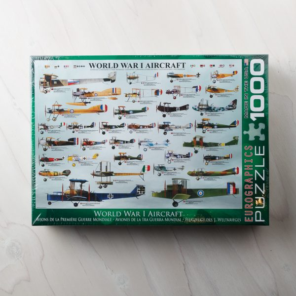 WW1 airplanes puzzle