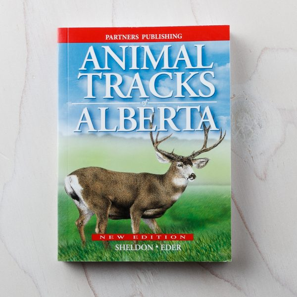 animal tracks alberta book