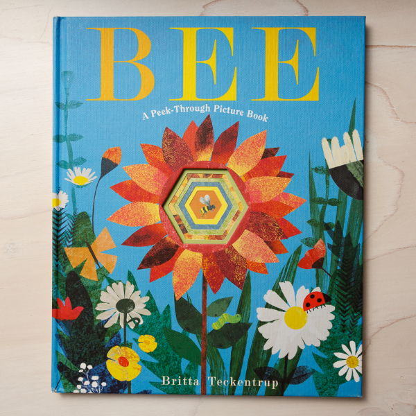 bee a peek through picture book
