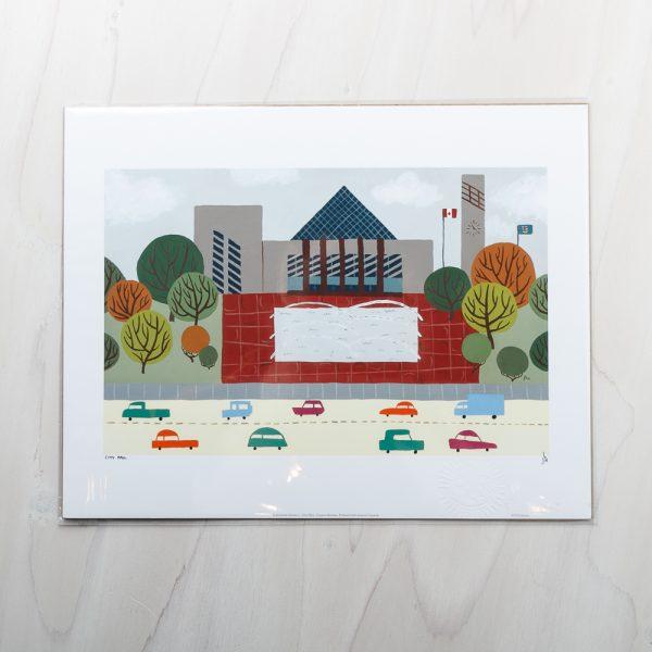 city hall print