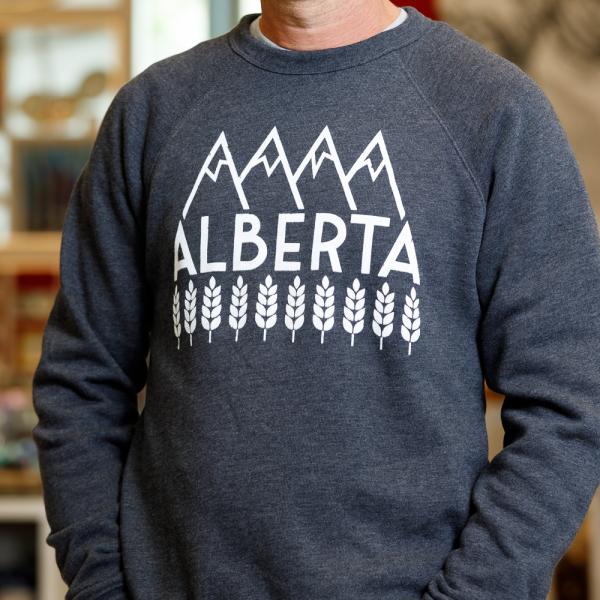 explore alberta sweatshirt