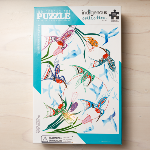 garden of hummingbirds puzzle