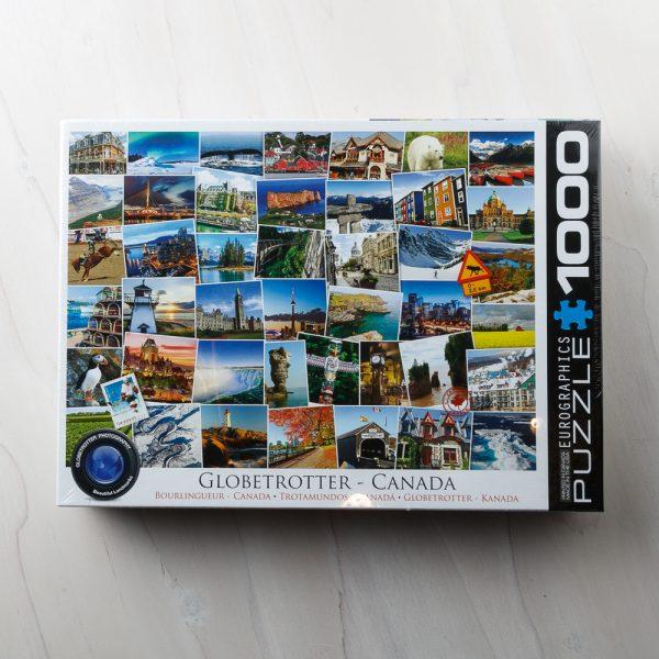 globetrotter canada puzzle