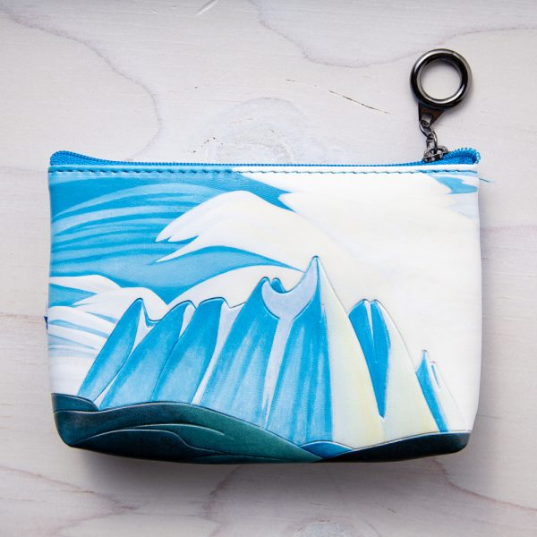 lake and mountains coin purse