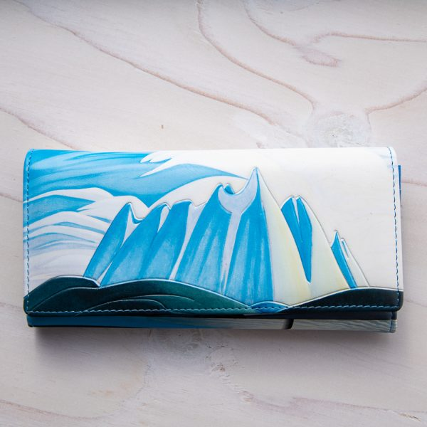 lake and mountains womens wallet
