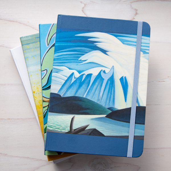 lake and moutains journal