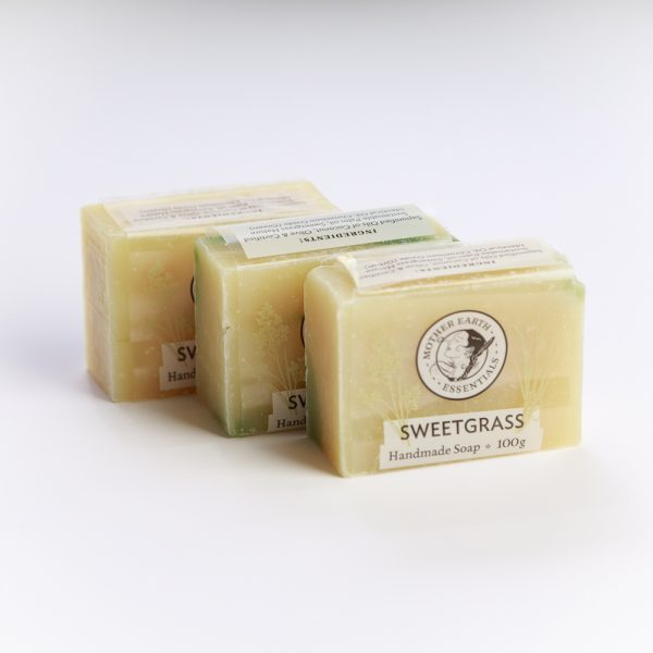 me sweetgrass soap