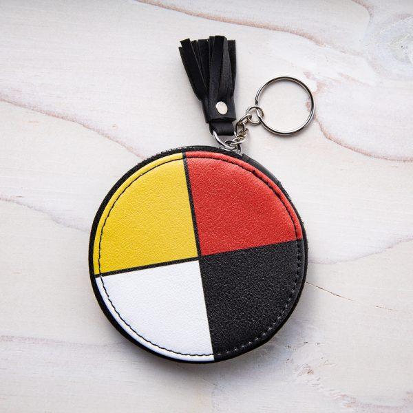 medicine wheel coin purse