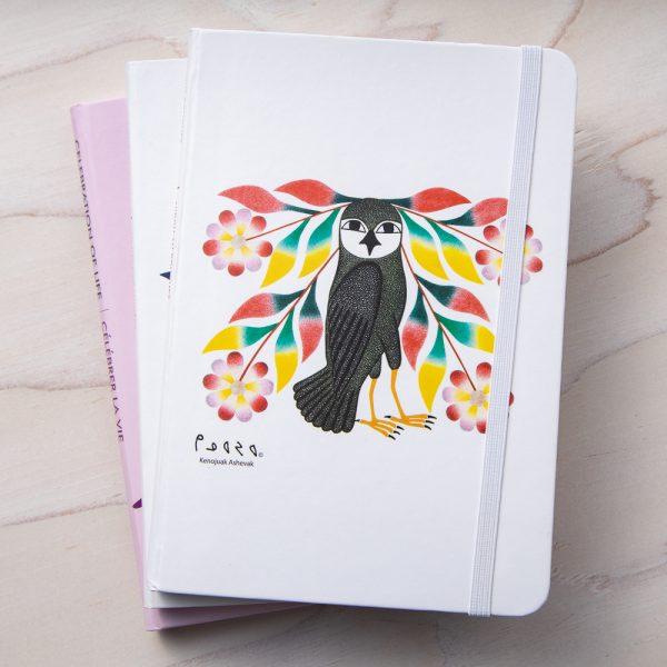 owl bouquet journal