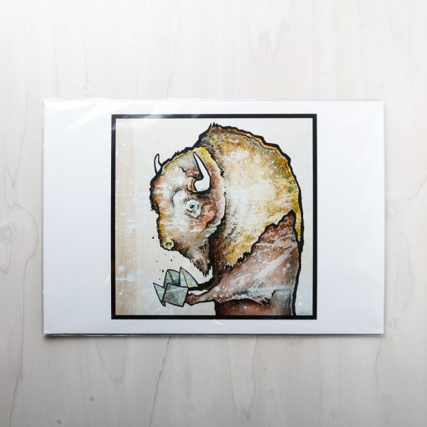 the fortune bison print