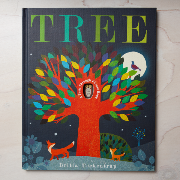 tree a peek through picture book