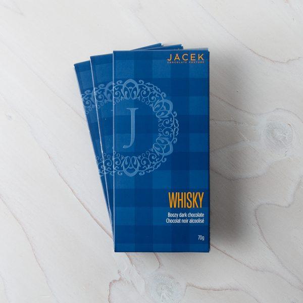 whisky chocolate bar
