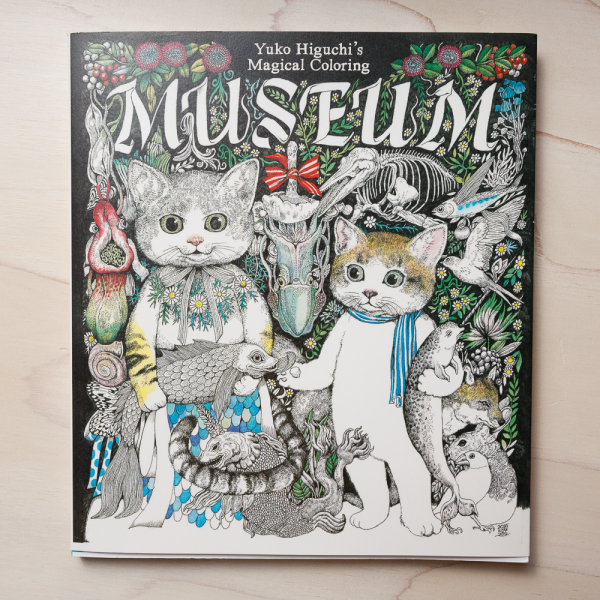 yuko higuchis magical colouring museum