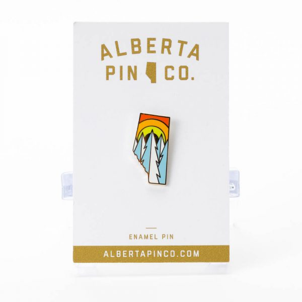 alberta sunshine winter pin