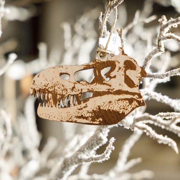 albertosaurus skull ornament