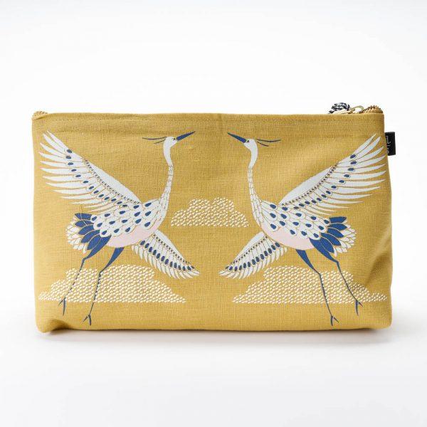 flight of fancy linen bag