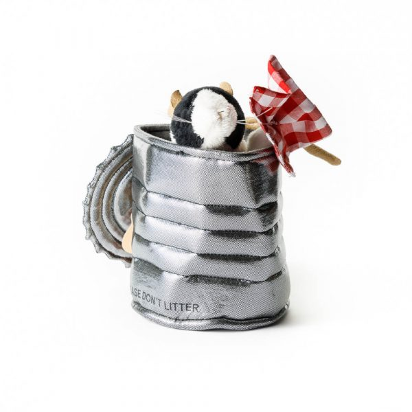Rat in a Tin Can Hand Puppet