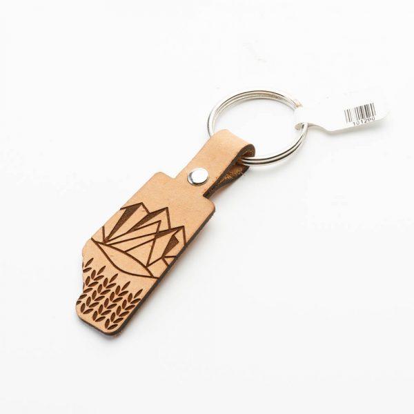 alberta crest keychain