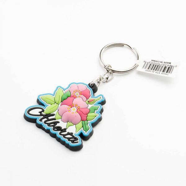 alberta rose keychain