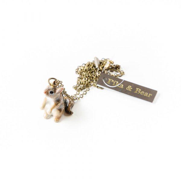 chipmunk necklace
