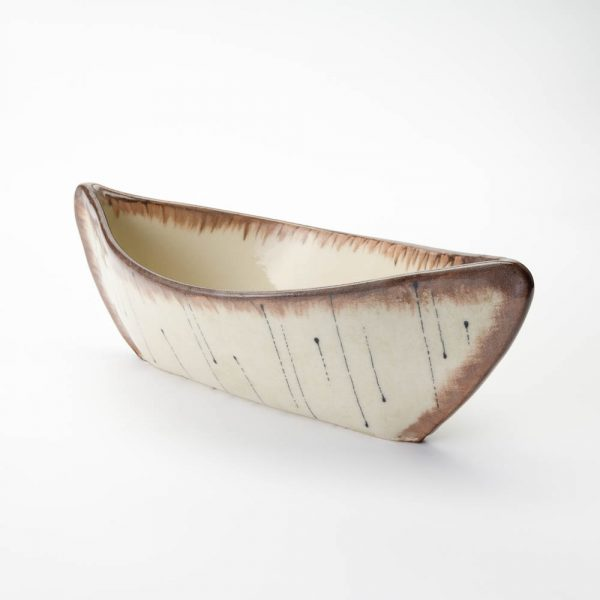 large birch canoe