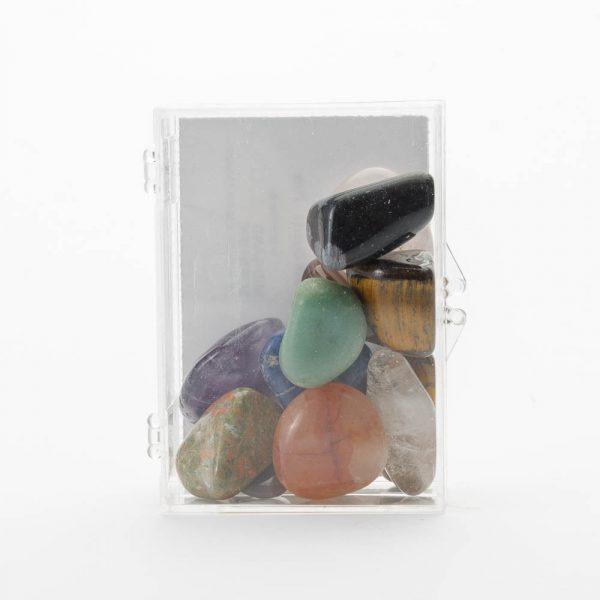 large tumbled gemstones