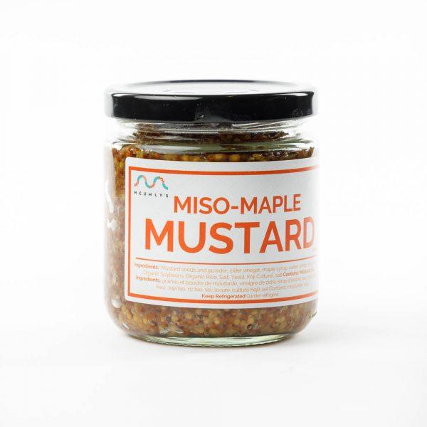 miso maple mustard