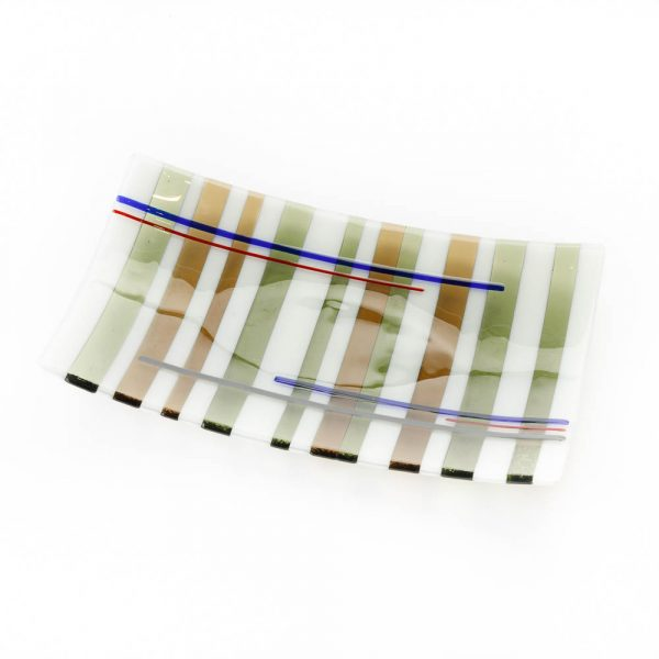 rectangle tartan plate