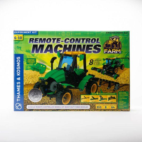 remote control farm machines