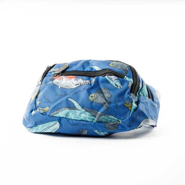 sea creature belt bag