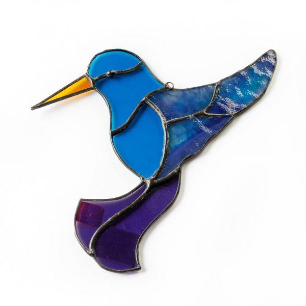 sg blue hummingbird