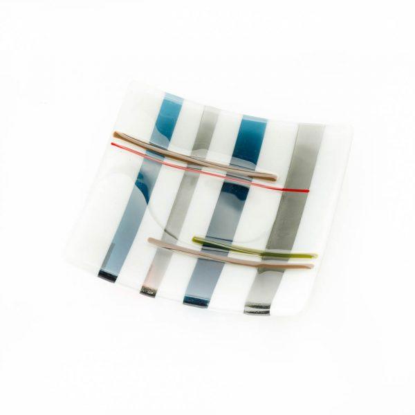 square tartan plate