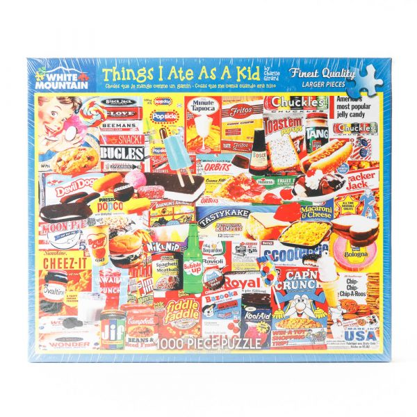 things i ate puzzle