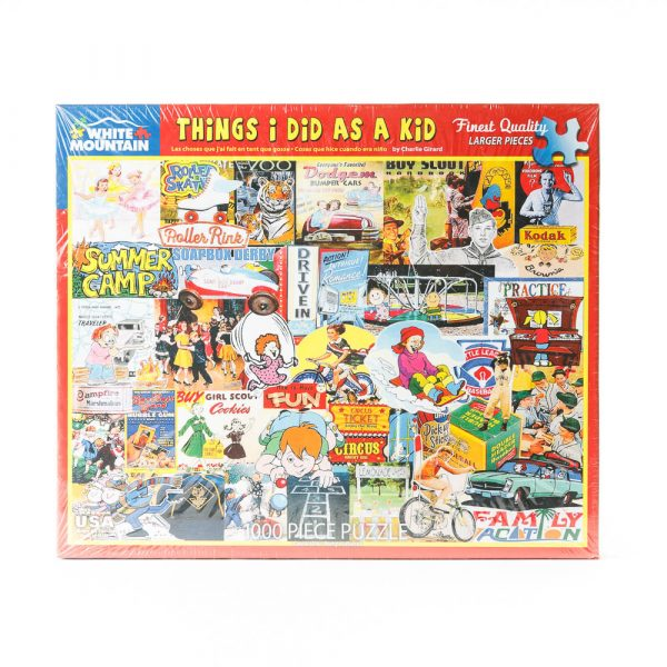 things i did puzzle
