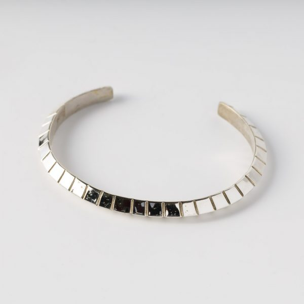 albertine crow shoe long rectangle bracelet