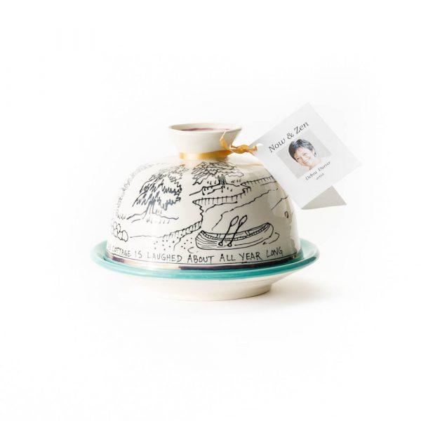 bear cottage butter bell