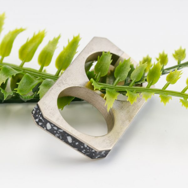 beton brut double ring