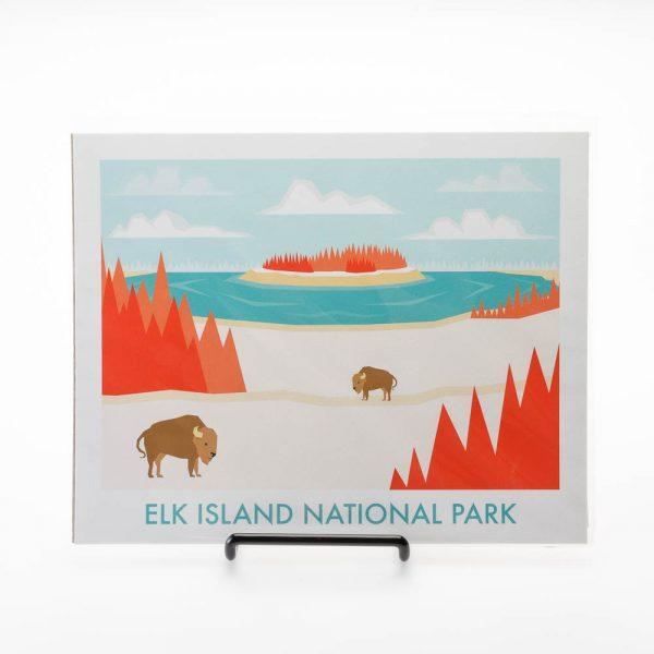 elk island park print