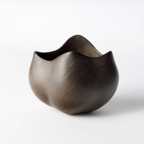glen small black tulip bowl