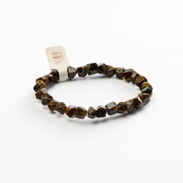 neshka black amber bracelet