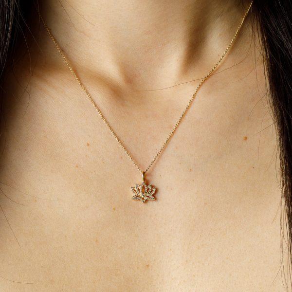 shakti gold lotus