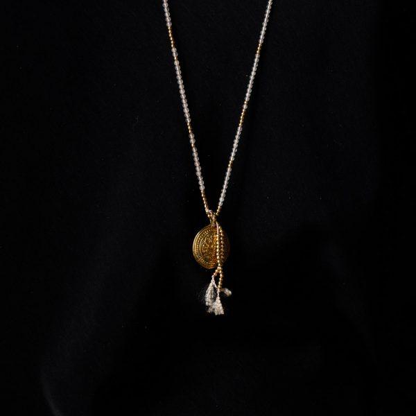 shakti rose quartz gold