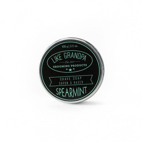 spearmint shave soap