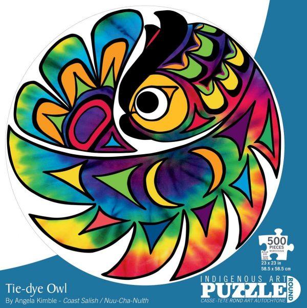 tie dye owl